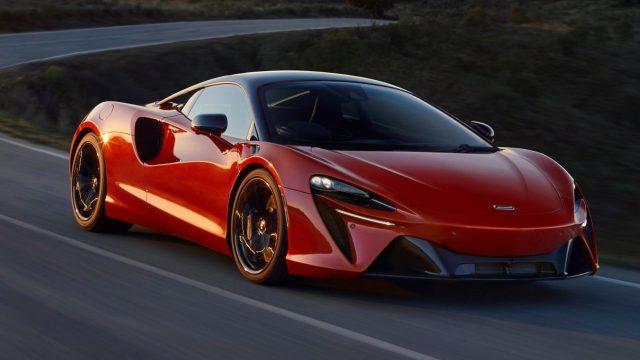 Superdeportivo híbrido McLaren