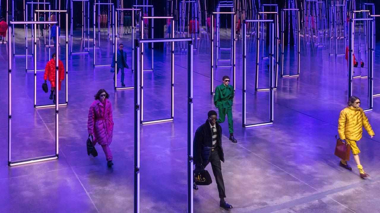 Fendi explora un mundo de luz y color a través de su nueva colección para hombres