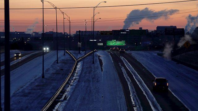 Ola de Frío en Texas.