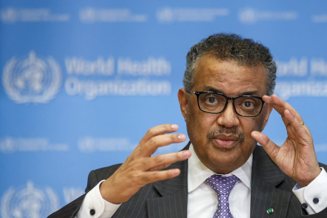 OMS pide alianza contra futuras pandemias y no bajar la guardia ante COVID-19