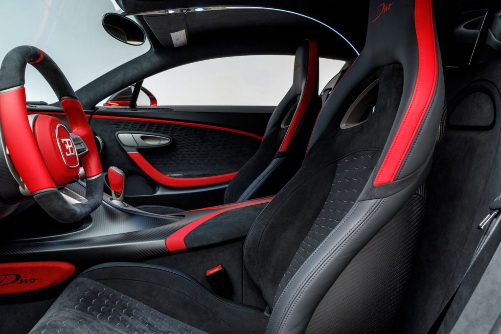 Bugatti Divo hiperdeportivo