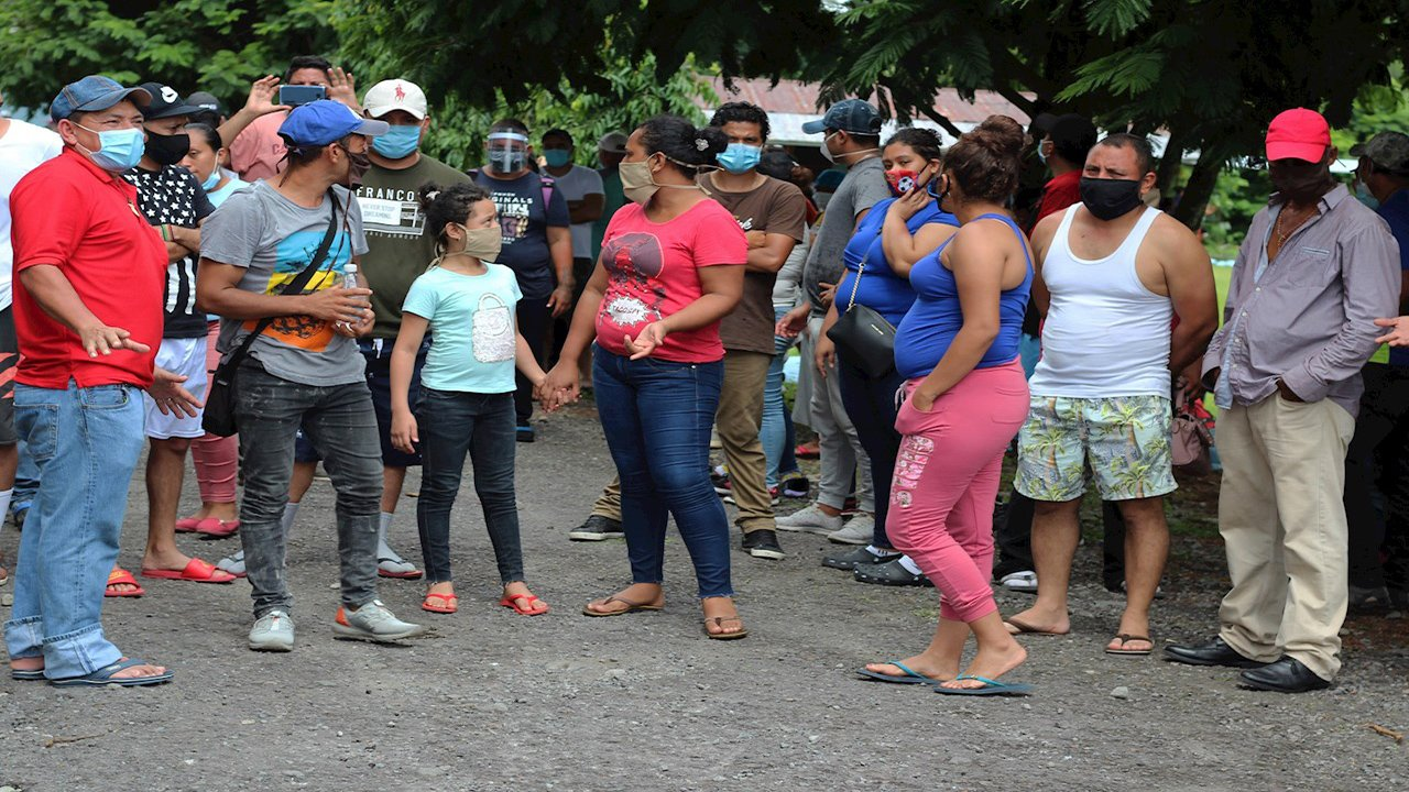 Nicaragua: 105,327 migrantes han retornado al país durante la pandemia