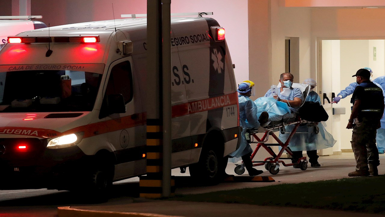 Panamá llega a 5,895 muertes por el COVID-19 y 343,281 casos