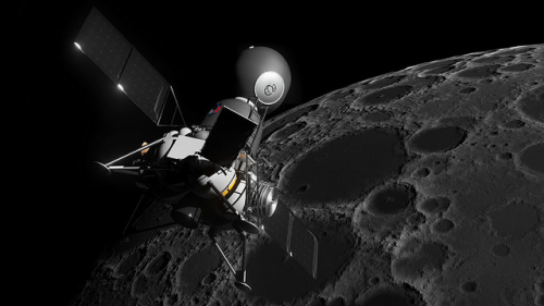 Musk y Bezos se disputan contrato para aterrizaje en la Luna