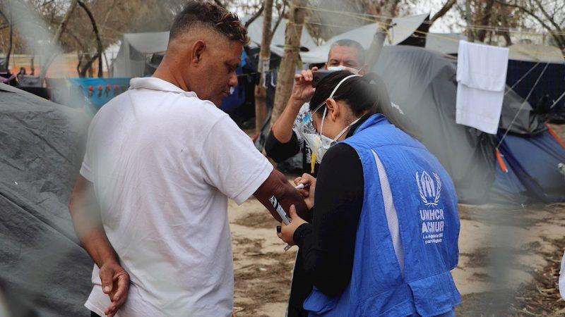 Migrantes y desplazadas, los más afectados por Covid-19