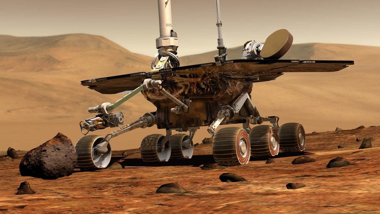La NASA publica audios inéditos captados en el planeta rojo