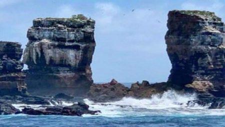 Se derrumba el Arco de Darwin en Islas Galápagos