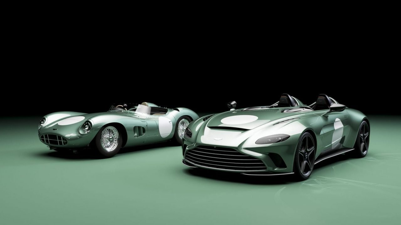Aston Martin Speedster V12 edición limitada: Un homenaje al pasado