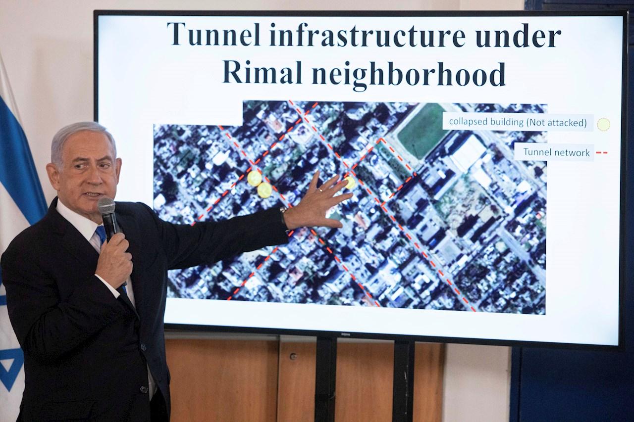 Netanyahu rechaza petición de Biden sobre parar ataques en Gaza