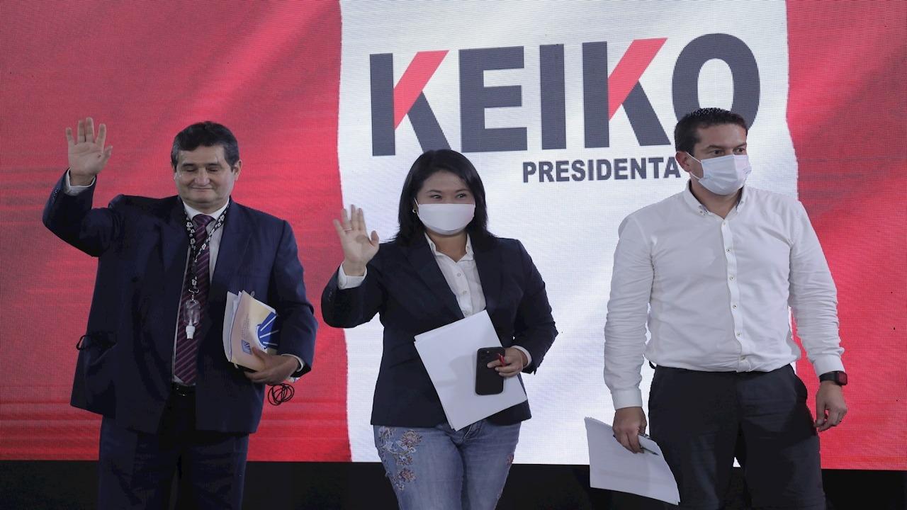 Fujimori pide invalidar 200,000 votos en elecciones presidenciales peruanas