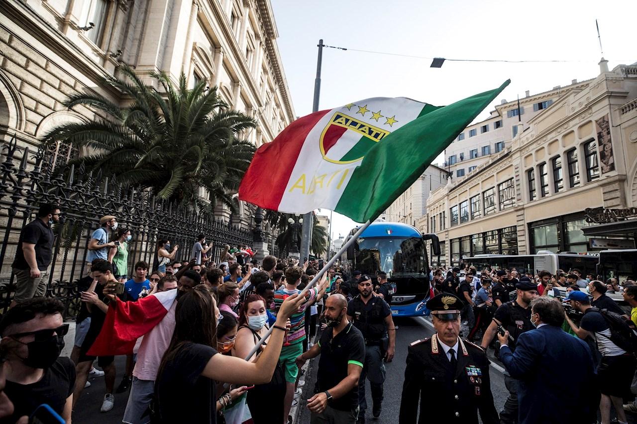 El triunfo en la Eurocopa beneficiará al PIB italiano en 4,000 mde