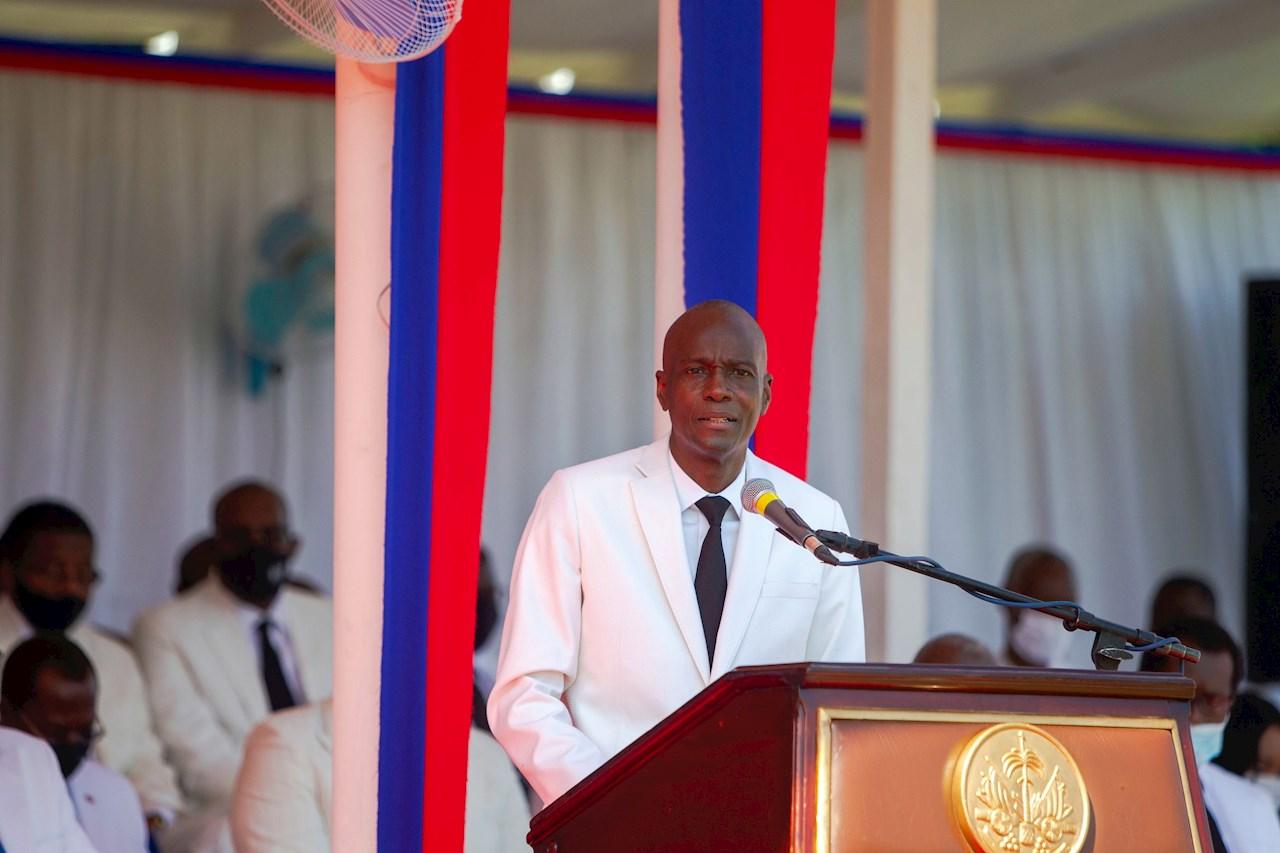 Muere asesinado a tiros en su casa el presidente de Haití, Jovenel Moise