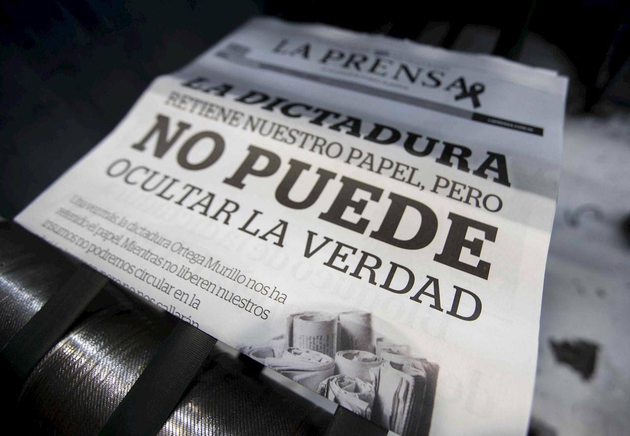 Ordenan juicio en Nicaragua contra gerente de La Prensa y líderes opositores