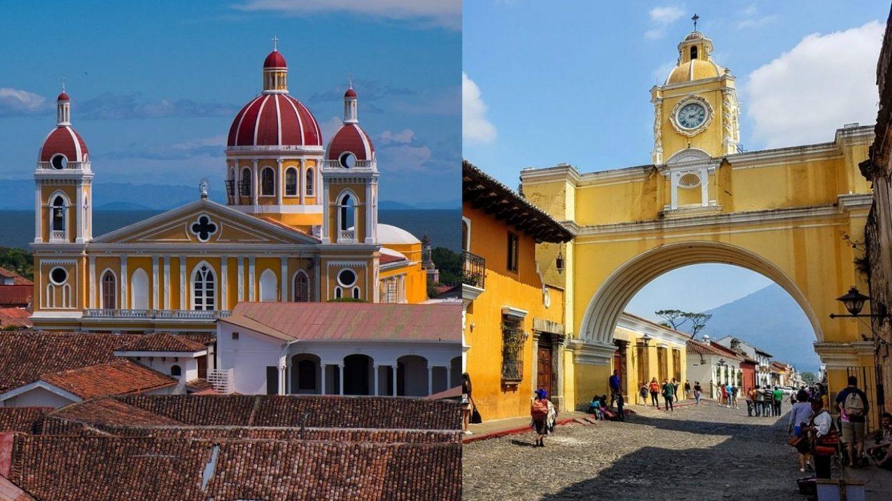 ¿Antigua Guatemala o Granada en Nicaragua?