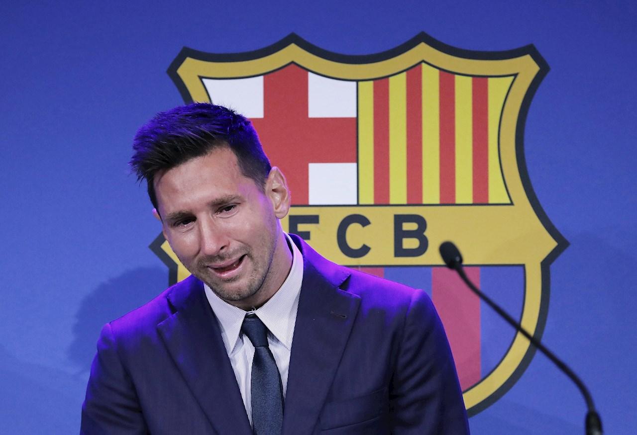 Messi explica su versión sobre su marcha del conjunto azulgrana