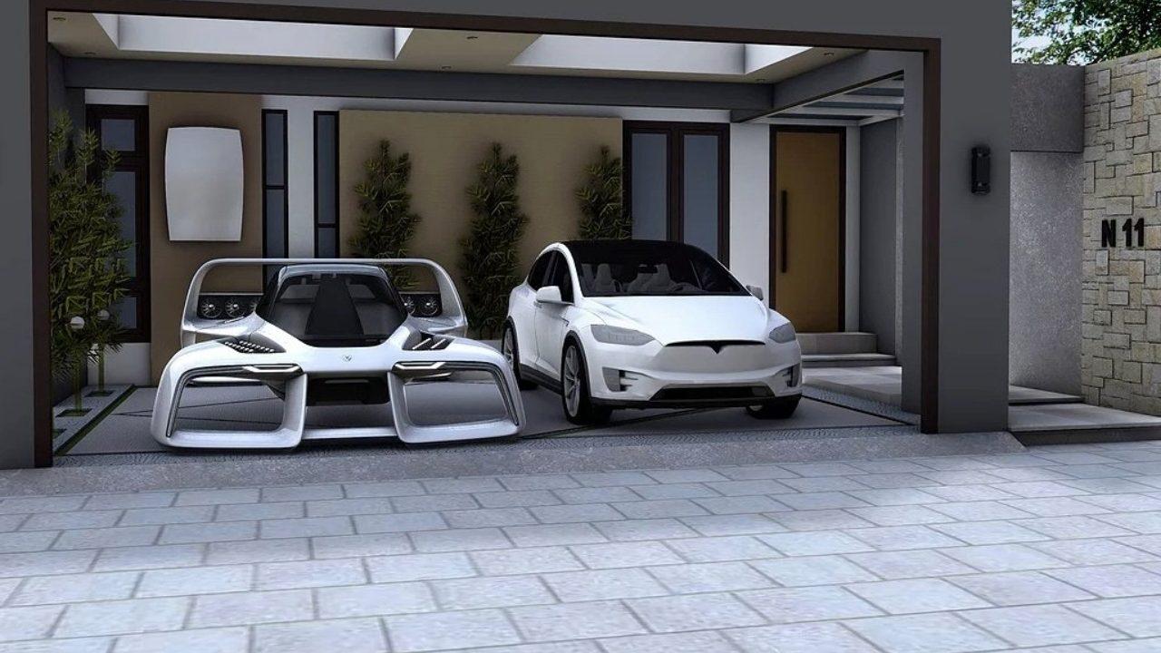 Presentan un auto aéreo que cabe en un garaje estándar