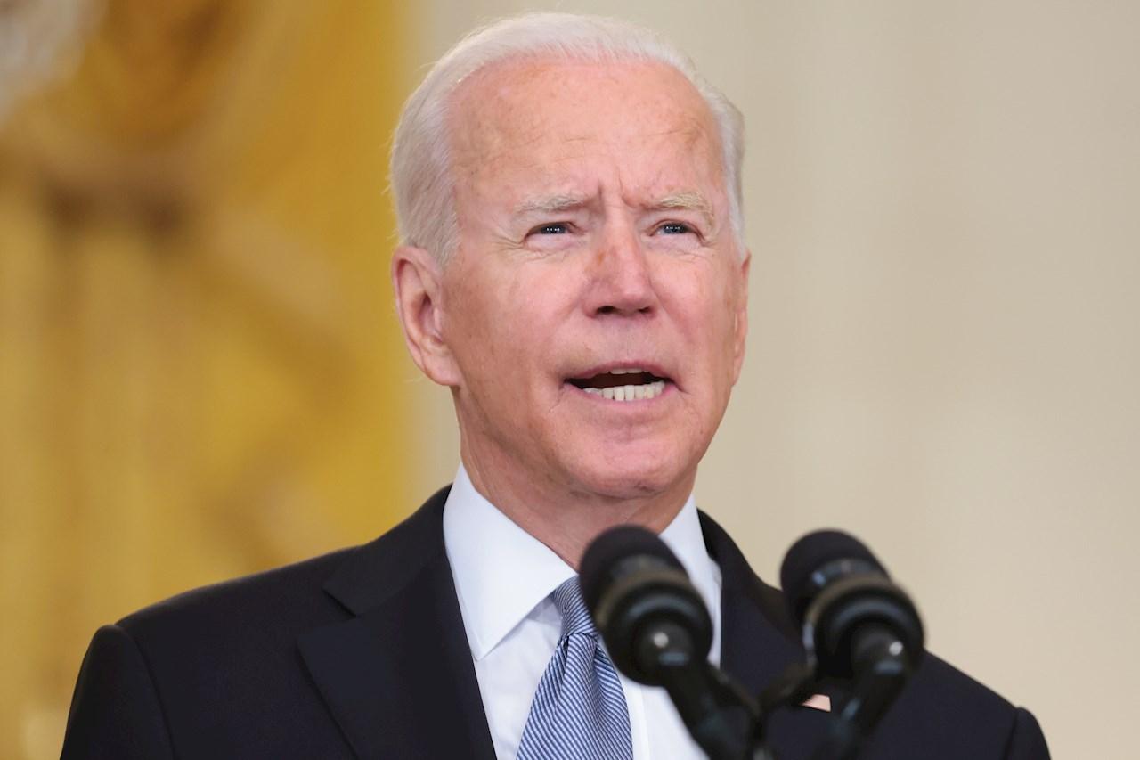 Biden afirma que la misión de EU en Afganistán nunca fue crear democracia