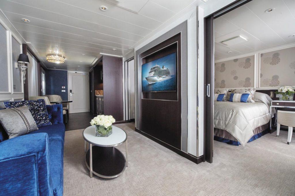 suit de lujo en el turismo de cruceros