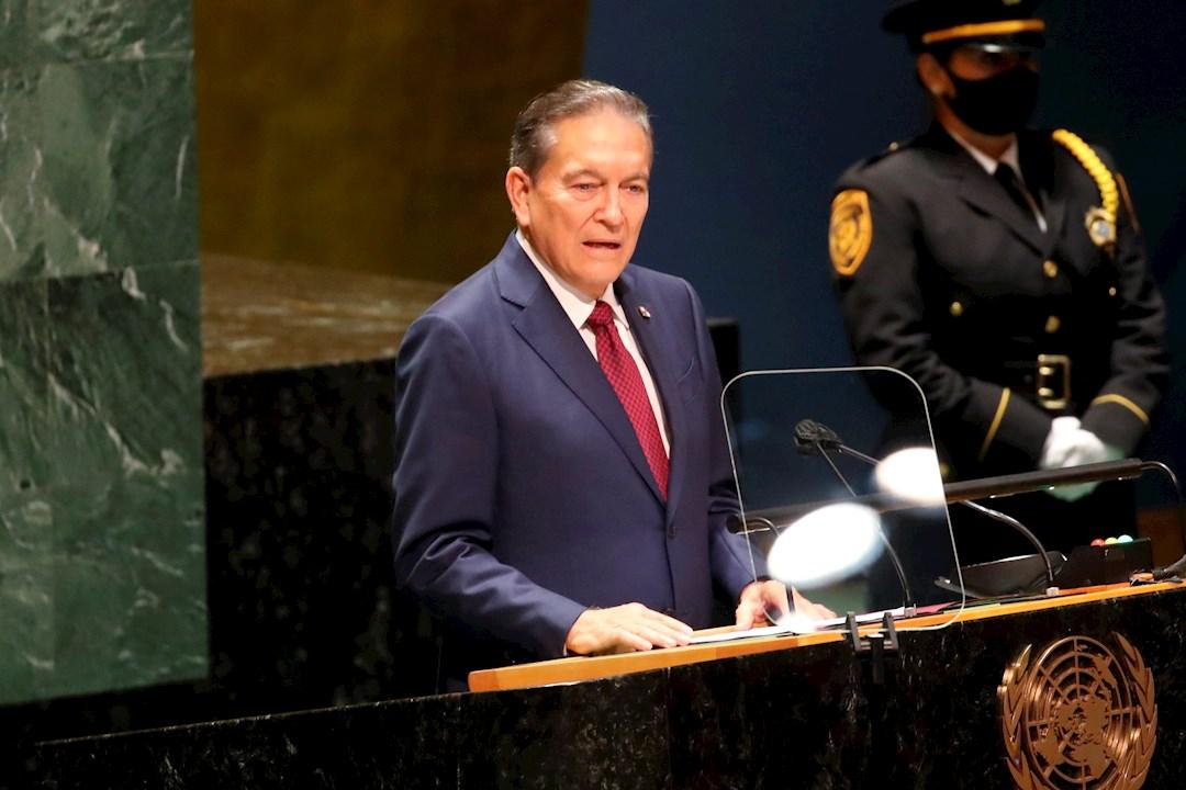 Presidente de Panamá invoca a la ONU ante la migración y crisis climática
