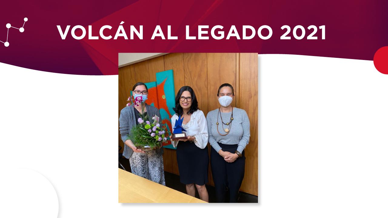 Volcán al Legado 2021 para Carmen Mayela Fallas