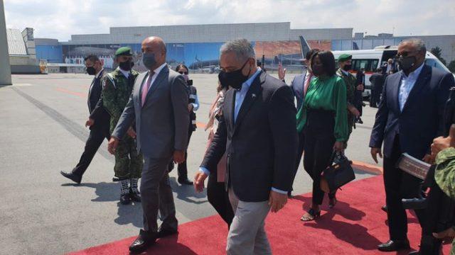 El primer ministro de Belice visita México por los 200 años de independencia