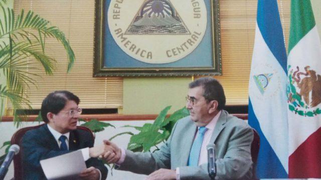 Nicaragua califica como 'abusiva publicación' un retuit del embajador de México