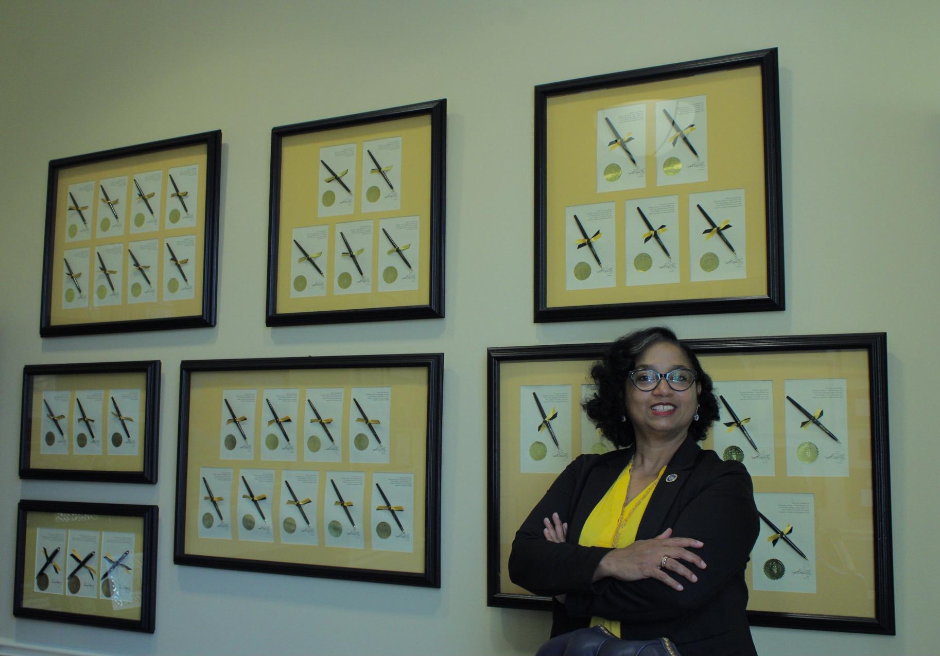 Dominicana representa a latinos en Congreso de EEUU